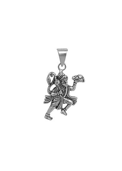Buy abhooshan hanuman in 925 silver pendant online at low prices in buy abhooshan hanuman in 925 silver pendant online at low prices in india amazon jewellery store amazon aloadofball Images