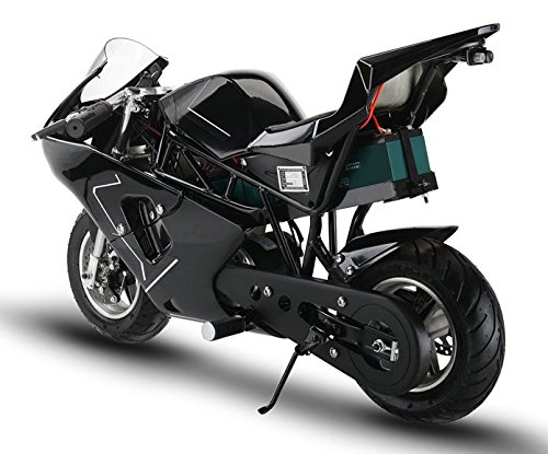 mototec electric 36v mini pocket bike motorcycle review transportation evolved. Black Bedroom Furniture Sets. Home Design Ideas