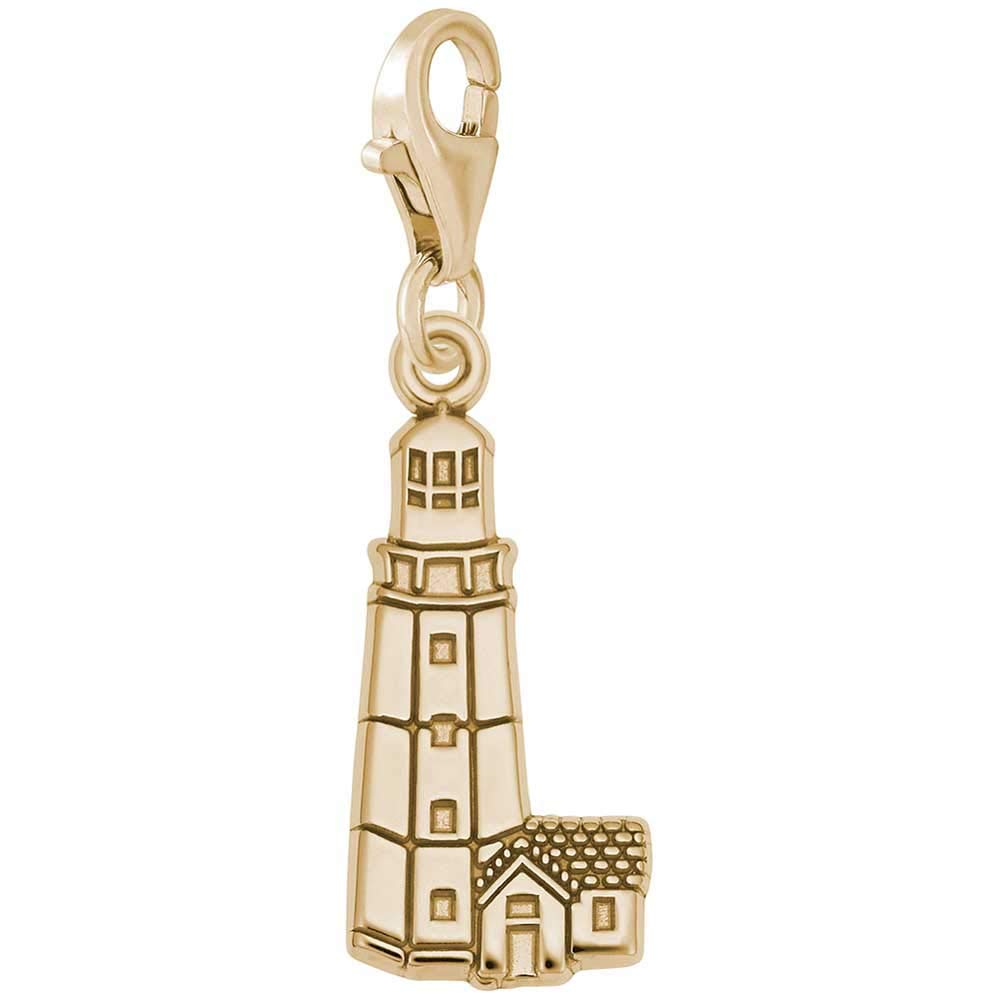 Rembrandt Charms Lighthouse Montauk Charm with Lobster Clasp