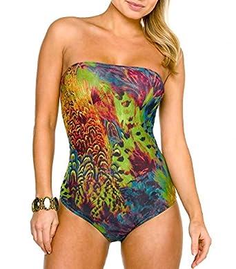 07f6072ef3994 Kiniki Amalfi Tan Through Tube Swimsuit Swimwear at Amazon Women s ...