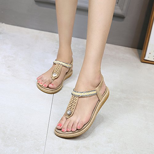 Ouvert Belloo Femme Bout Abricot Belloo Bout xwTqY7p6