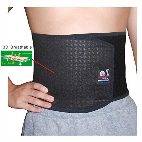 IRUFA,WA-OS-11,3D Breathable Spacer Fabric Waist Trimmer, Body Shaper, Abdominal Binder, Surgical Binder, Chest Binder, Abdominal Support, After C-Section, Abdomen Surgeries, Lower Back Pain