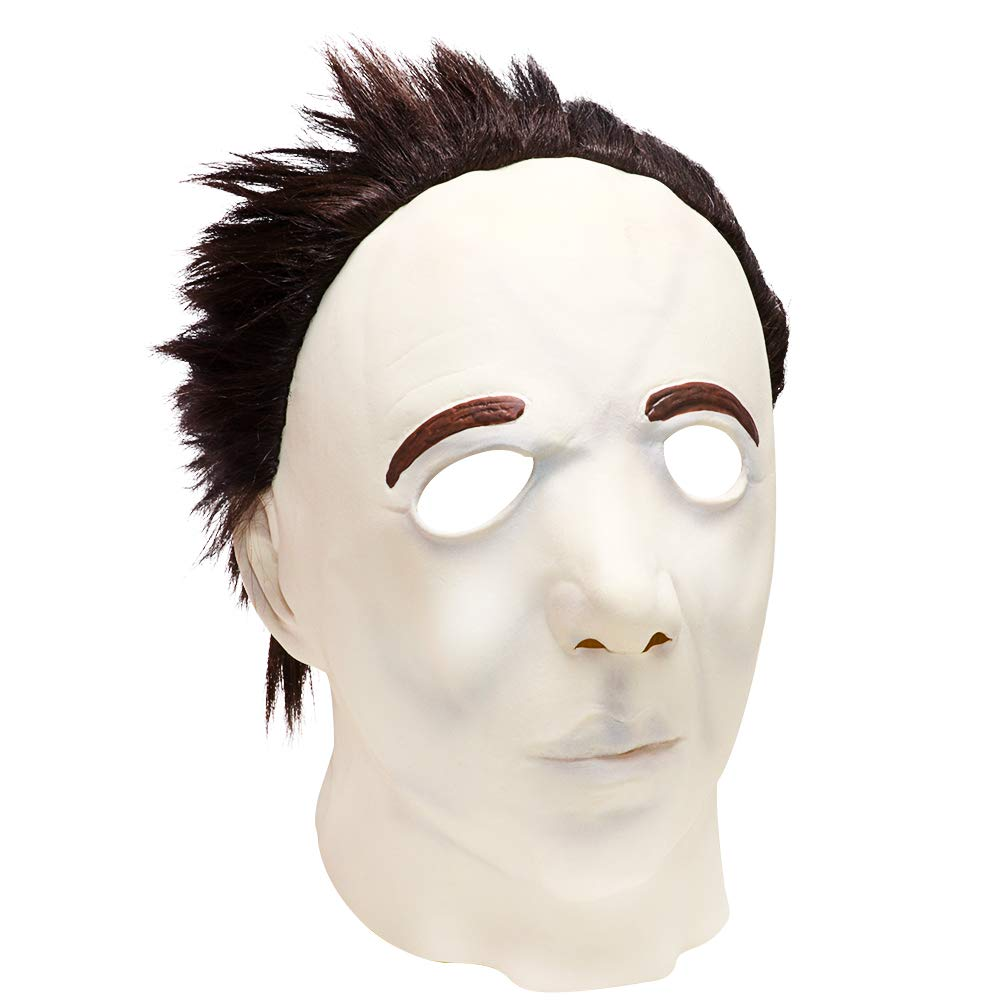 Halloween Michael Myers Mask,Halloween Scary clown Mask Costume Prop