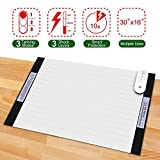 Pet Shock Mat - 30 x 16 Inches Pet Training Mat Scat Mat for Dogs & Cats, 3 Training Mode Shock Mat for Cats & Dogs, Indoor Use Pet Training Pad w/LED Indicator, Flexible Mat, Long Battery Life