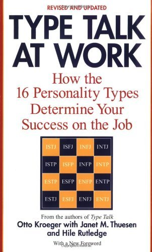Type Talk at Work: How 16 Personality Types Determine Your Success on the Job ebook