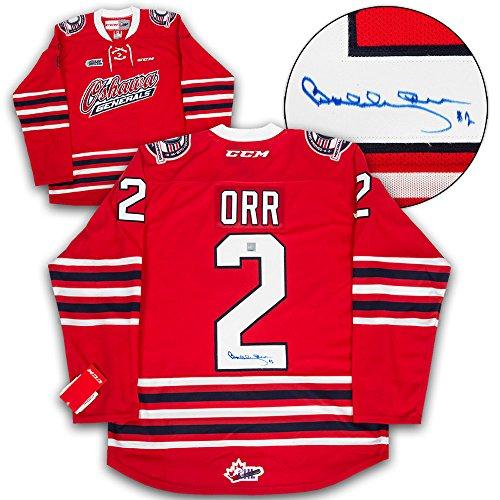 - Bobby Orr Oshawa Generals Autographed CCM OHL Hockey Jersey: GNR COA