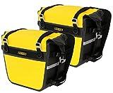 Nelson-Rigg SE-3050-YEL Black/Yellow Sierra Dry Saddlebag Set