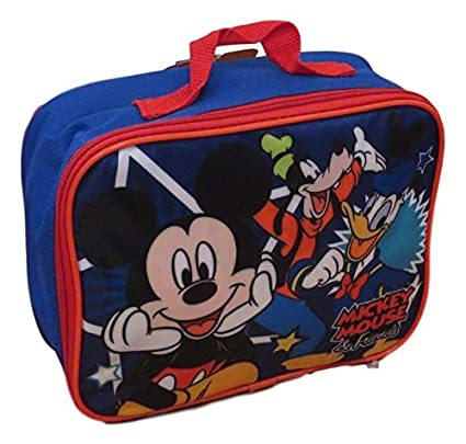 21cf5b1733b Amazon.com  Disney Mickey Mouse and Friends Insulated Lunch Box - Lunch Bag   Toys   Games
