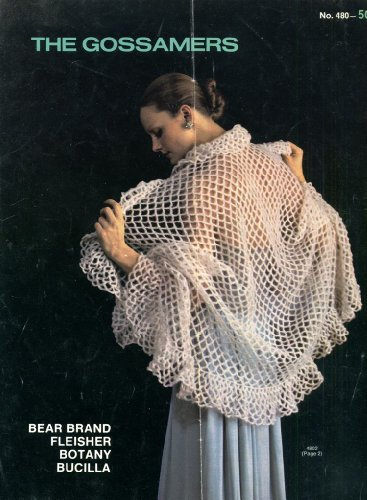 [The Gossamers Vintage 1970s Sweater Crochet Patterns (Leaflet #480)] (70s Costume Patterns)