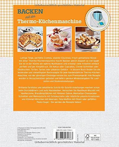Backen Mit Der Thermo Kuchenmaschine 9783625174363 Amazon Com Books