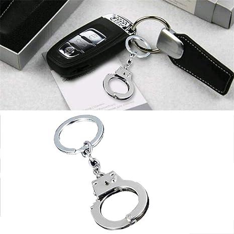 heling896 Innovador Elegante Metal llaveros Cintura del ...