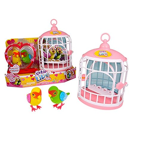Little Live Pets Bird Cage: My Love Birds and Romeo Juliet by Little Live Pets