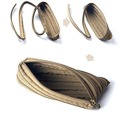 Bag Supplies - Edc Debris Pouch Outdoor Fishing Survival Paracord Zipper Bag Sports Parachute Cord Rope Handbag - Fishing Case Pole Reel Storage Iber Carrier Carrying - Rod - 1PCs