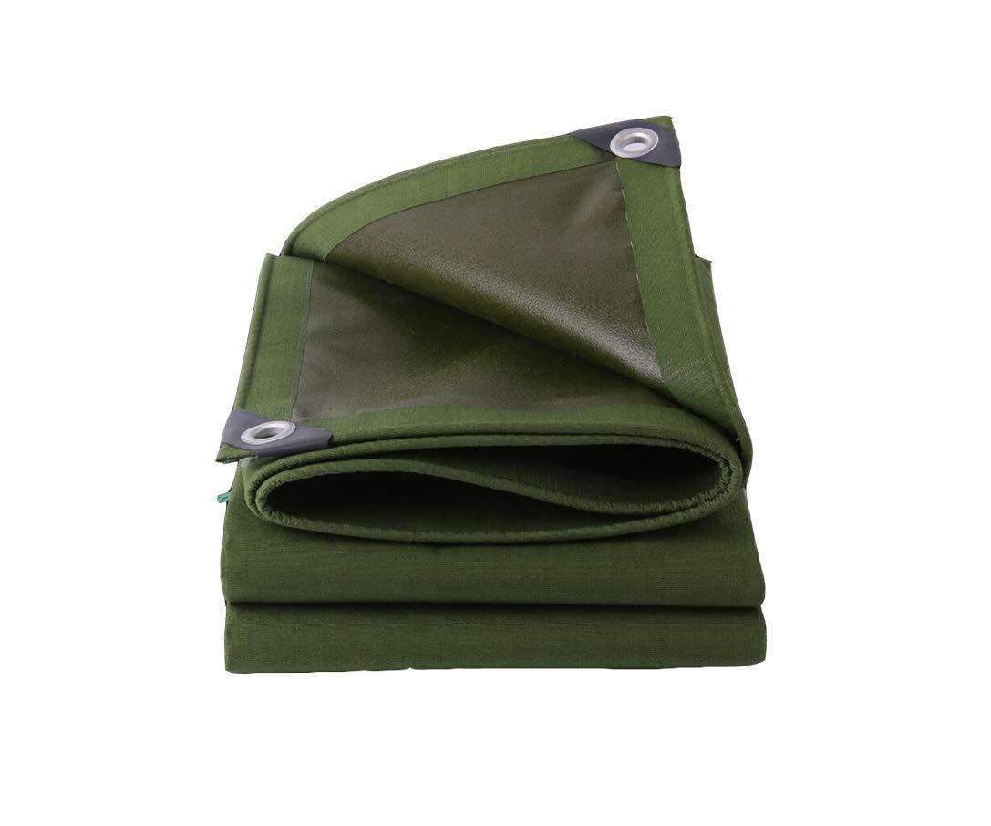 XUERUI シェルター ターポリン 屋根の保護 涙に抵抗する 防火1㎡= 650g (サイズ さいず : 2x4m) 2x4m  B07HRMFFJ6