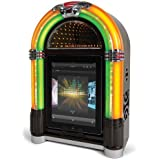 Ion Audio Retro Rocker Jukebox Speaker Dock for iPad, iPhone and iPod (Certified Refurbished)