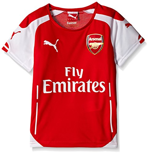 10 Home Shirt Arsenal - PUMA 2014-2015 Arsenal Home Football Shirt (Kids)