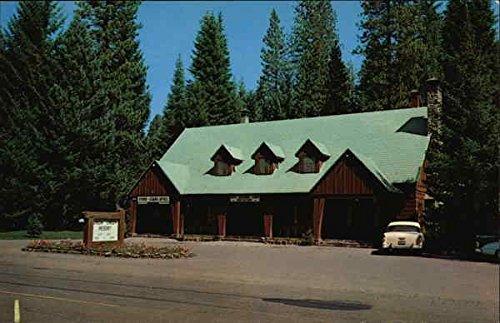 Resort River Lodge - Union Creek Resort Lodge, Rogue River National Forest Medford, Oregon Original Vintage Postcard