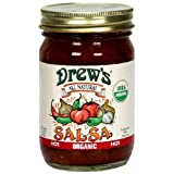 Drews Hot Salsa, 12 Ounce -- 12 per case.