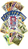 Toys : Pokemon Cards 50 Card Assorted Lot (Commons/Uncommons, Holos, Rares) Cazillion Cards Repack