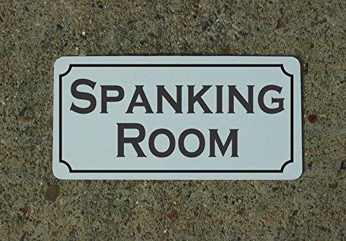 SPANKING ROOM Metal Sign 4 Costume Cosplay Girls