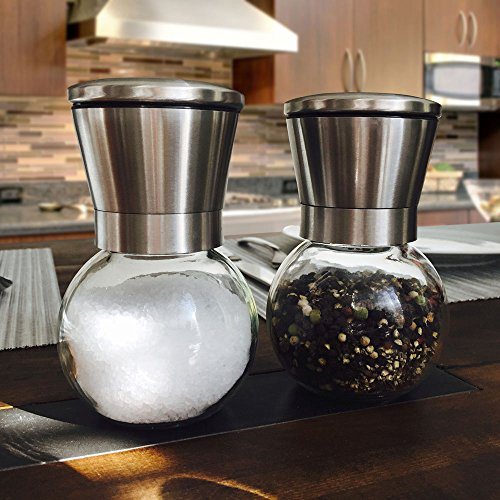 Premium Stainless Steel Salt And Pepper Ceramic Grinder