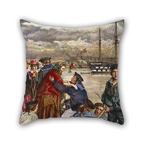 Artistdecor 18 X 18 Inches / 45 By 45 Cm Oil Painting John J Lee - Sweethearts And Wives Pillow Cases,double Sides Is Fit For Indoor,bar,kitchen,kids Room,teens (Tween Sweet Bee Costume)