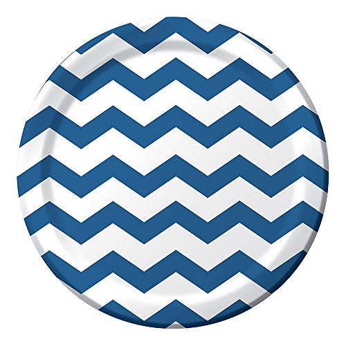 (Creative Converting Celebrations 96 Count Chevron Paper Dinner Plates, 8.75