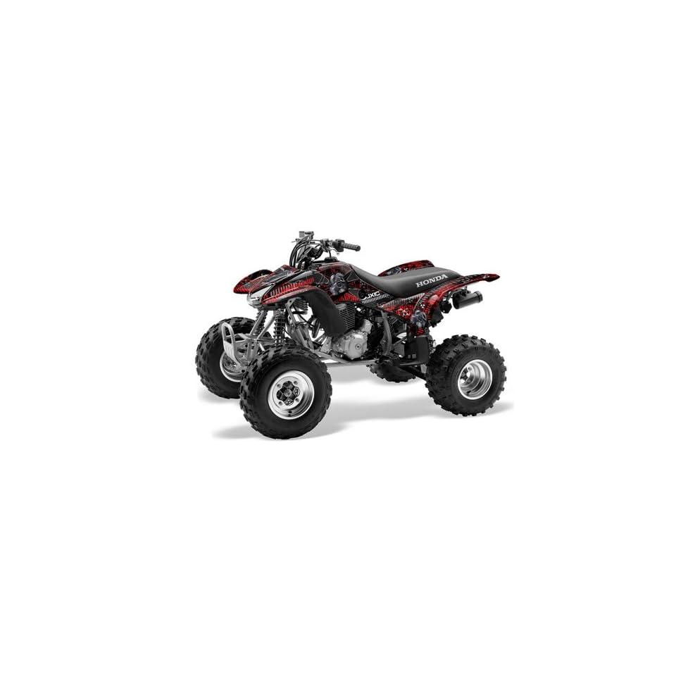 AMR Racing Honda TRX 400EX 1999 2007 ATV Quad Graphic Kit   Toxicity Black w
