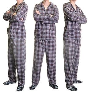 Espada Men's Cozy Fleece Pajama Set
