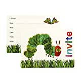 Talking Tables The Very Hungry Caterpillar Invitations (24 Pack), Multicolor