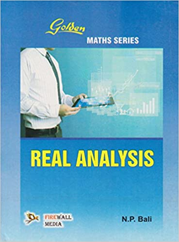 Buy Golden Real Analysis Book Online at Low Prices in India | Golden