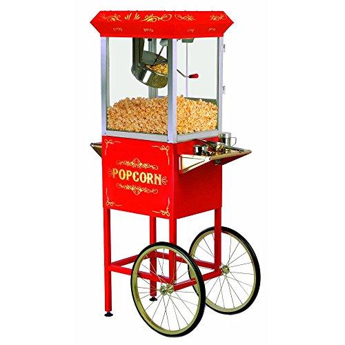 rolling popcorn cart - 3