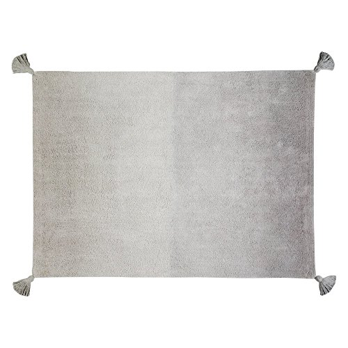Lorena Canals Degrade 120x160 Cm, Light Grey/Dark Grey, 4' x 5' 3'' by Lorena Canals