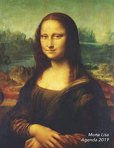 Mona Lisa Agenda 2019: Artistieke Weekplanner   Leonardo da Vinci   Januari t/m December 2019   De Perfecte Organizer! (Planners en Agenda's) (Dutch Edition)