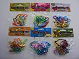 72 Silly Rubber Bandz (6 Packs of 12 Pieces) Musical, Dress, Sea, Farm, & Garden Bands