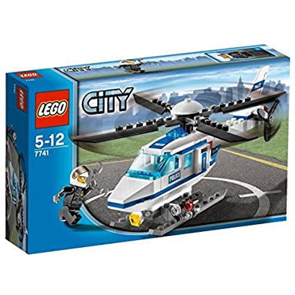 LEGO City NEW Building Toys, Minifigure Police Helicopter 30351-44 Pcs