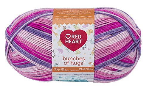 Red Heart Bunches of Hugs, Fairy Tale Yarn