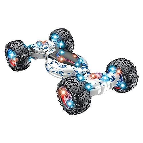 Watkings RC Stunt Car, 360 Degree Flips Double Sided Rotating Race Car,2.4G Gesture Sensing Remote Control Stunt Car…