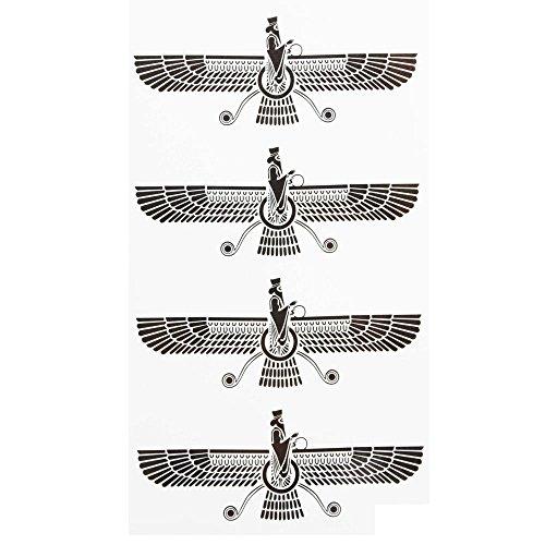 ttoos Farvahar Iran Persia Symbol Iranian Persian Zoroastrian Farsi human soul in Zoroastrianism ()