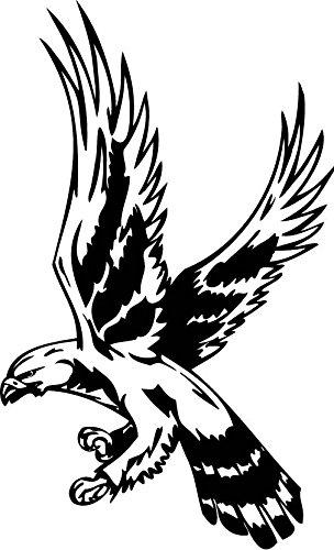 amazon nikdecals decals decal stickers wild west eagle Bird of Prey Plant nikdecals decals decal stickers wild west eagle decoration waterproof racing predatory birds 059