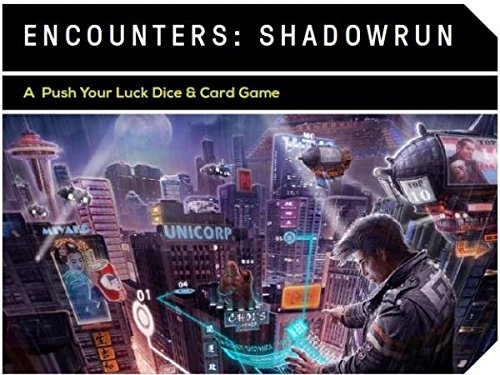 Shadowrun: Encounters (dice Game) -  Catalyst Game Labs, CAT27750