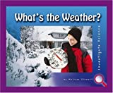 What's the Weather?, Melissa Stewart, 0756506395