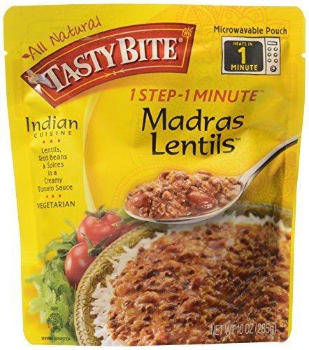 Tasty Bite Madras Lentils (6x10 Oz) by Tasty Bite