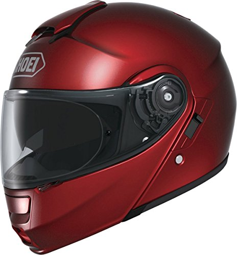 Shoei Metallic Neotec Road Race Motorcycle Helmet - Wine Red / Small -  0117-0111-04
