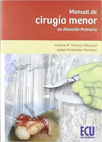 Book Manual de cirugía menor en atención primaria