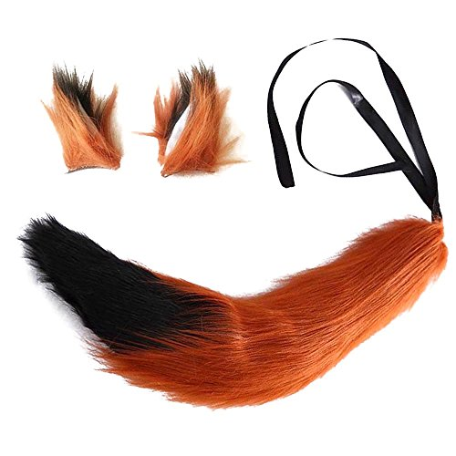 Adult Fox Nick Wilde Cosplay Ears Tail