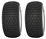 Slasher Knobby 18x9.50-8'' Golf Cart Tires / ATV Tires - Set of 2