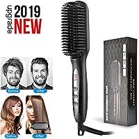 Hair strainghtener brush for men and women