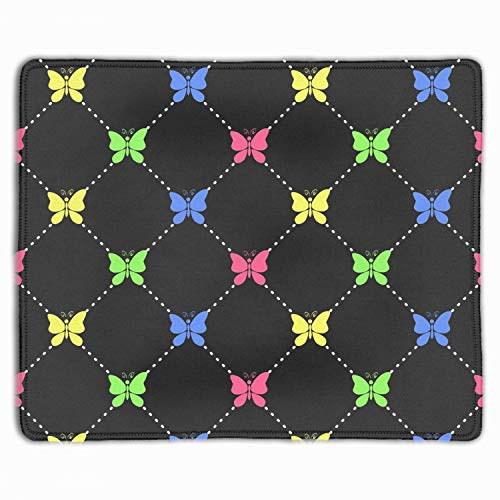 Candy Butterflies Mouse Pad Game Office Thicker Mouse Pad Decorated Mouse Pad