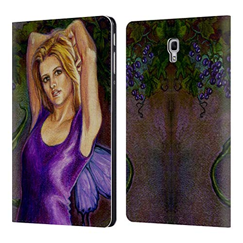 Leather Erin (Official Jane Starr Weils Erin Fairies 2 Leather Book Wallet Case Cover for Samsung Galaxy Tab A 10.5 (2018))